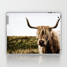 Highland Cow - color Laptop & iPad Skin