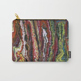The Reef - Original, abstract, acrylic, fluid painting Carry-All Pouch