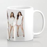fifth harmony Mugs featuring Fifth Harmony Boss by TSMM