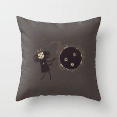 Katamari of the Dead Throw Pillow