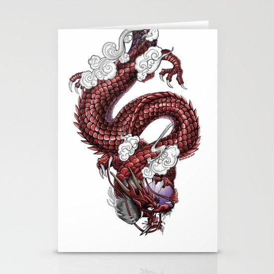 Japanese Dragon 竜 Stationery Cards
