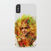 emma watson iPhone & iPod Cases featuring Emma Watson by ururuty
