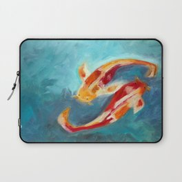 Koi Fish Art - Koi Laptop Sleeve
