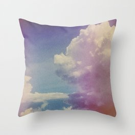 Dream of Clouds Throw Pillow