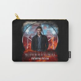 Supernatural Demon Dean  Carry-All Pouch