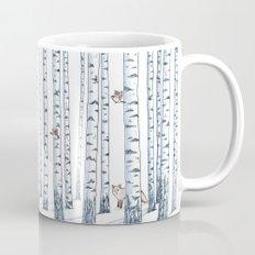 Fox in the woods Mug