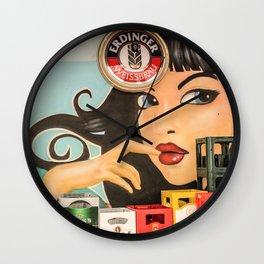 Berlin Kreuzberg Wall Clock