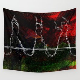 Belly Dancing symbolic art Wall Tapestry