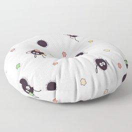 Soot sprites - Chihiro Floor Pillow