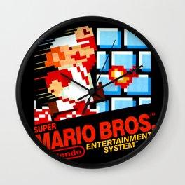 Super Mario Bros Wall Clock