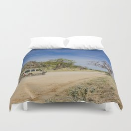 Leopold Downs Road Duvet Cover
