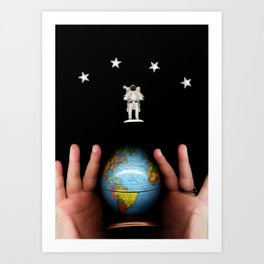 All of Earth and Space Art Print