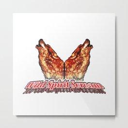 Wild Spirit Scream Metal Print