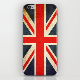 Vintage Union Jack British Flag iPhone Skin