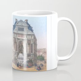 Paris Decor office decoration vintage decor FONTAINE St MICHEL of Paris Coffee Mug