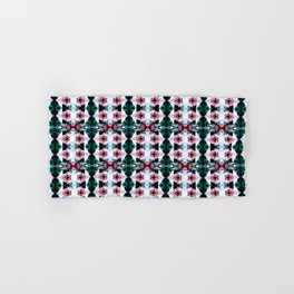Abstract Kaleidoscope Funky Seamless Pattern Hand & Bath Towel