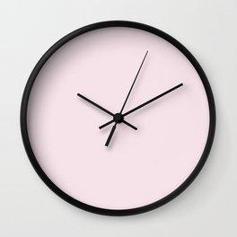 Basic Colors Series - Baby Pink Wall Clock