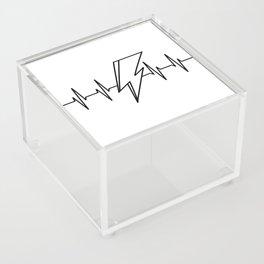 Bowie Heartbeat Acrylic Box