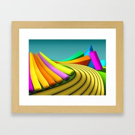 Toys Framed Art Print