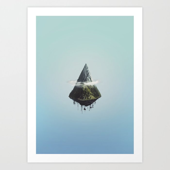 Mount Ascension Art Print