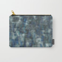 Abstract blue bluring pattern Carry-All Pouch