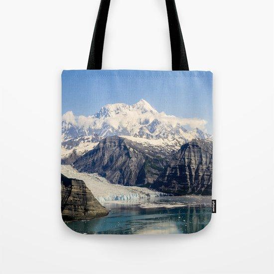 Mountain Lake Landscape Tote Bag