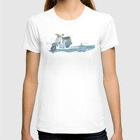 vespa T-shirts featuring Vespa by mtheb