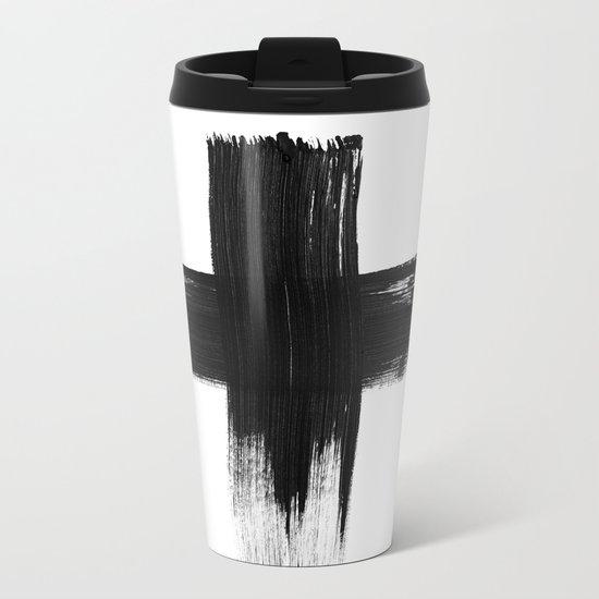 Cross Metal Travel Mug
