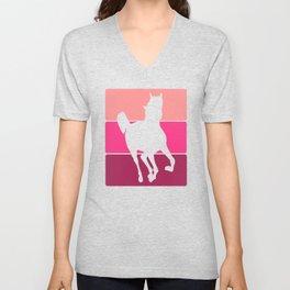 3 Tone Horse Unisex V-Neck