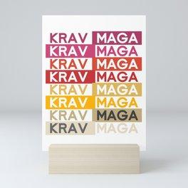Pop Art Krav Maga Mini Art Print