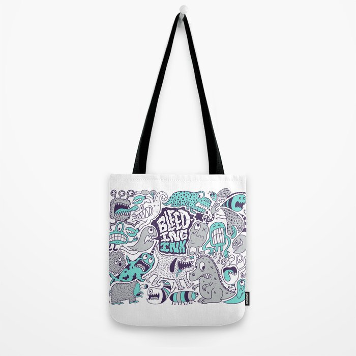 Bleeding Ink Tote Bag