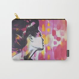 Neon Geisha Carry-All Pouch