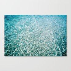 Luz Azul Canvas Print