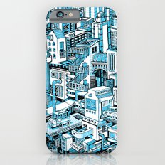 City Machine - Blue iPhone 6s Slim Case