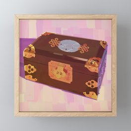 Chinese Jewelry Box Framed Mini Art Print