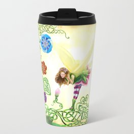 Flower Fairy Travel Mug