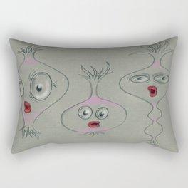 trilogy of tubers Rectangular Pillow