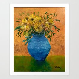 Sunflowers III Art Print