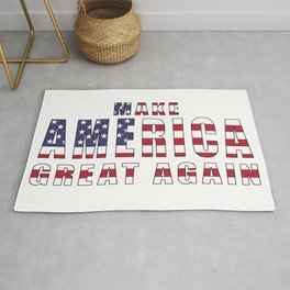 Make America Great Again - 2016 Campaign Slogan Rug