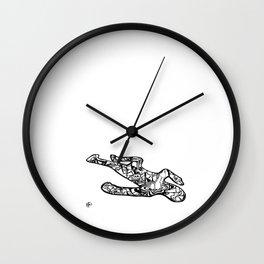 'Loco-motion' by John McLachlan Wall Clock