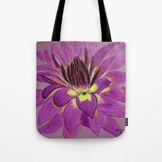 flower close up Tote Bag