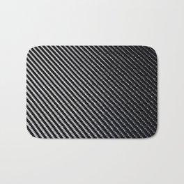 Carbon Fiber texture Bath Mat