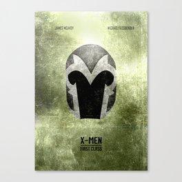 X-Men: First Class - Minimal Canvas Print