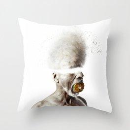 Acid Thinking Throw Pillow