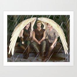 Wing Umbrella Art Print