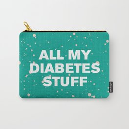 All My Diabetes Stuff™ (Arcadia Paint) Carry-All Pouch