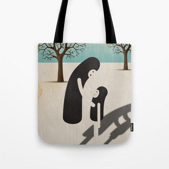 padre/figlio Tote Bag