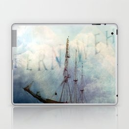 fernweh for distant lands [expedition to Galapagos] v2 Laptop & iPad Skin