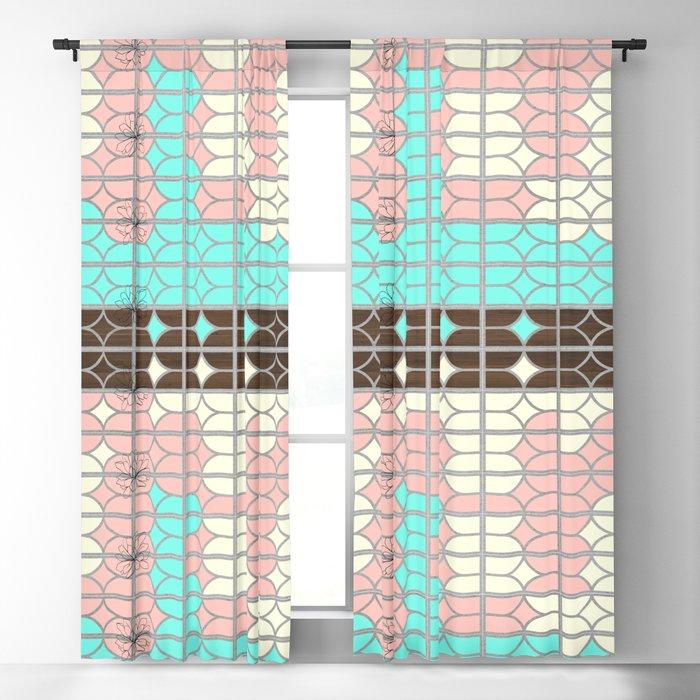 desert modernism Blackout Curtain