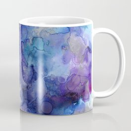 Abstract Watercolor and Ink Coffee Mug